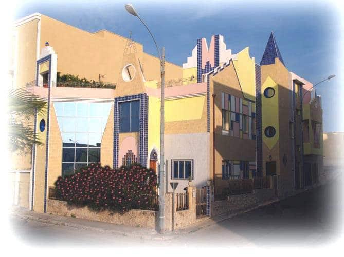 Frontile della Casa degli Artisti