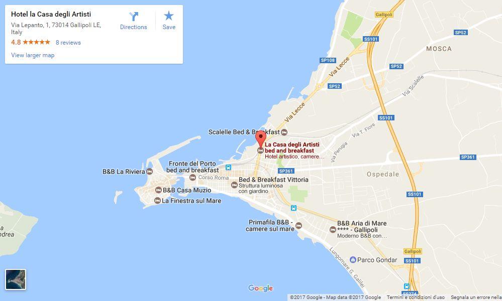 Clicca per visualizzare la mappa live ingrandita su Google maps
