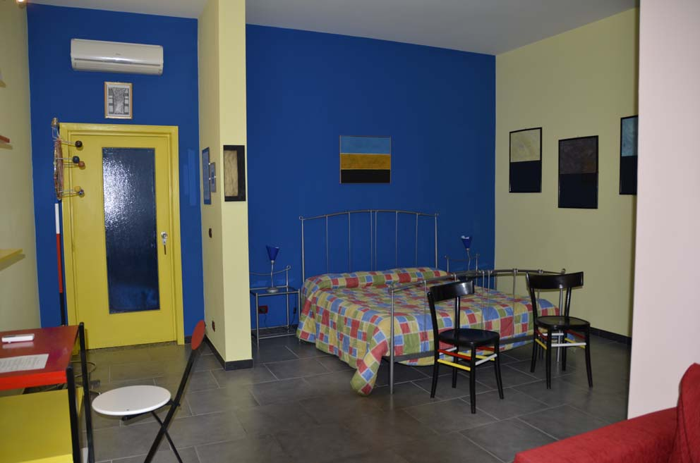 Zona notte suite Mondrian
