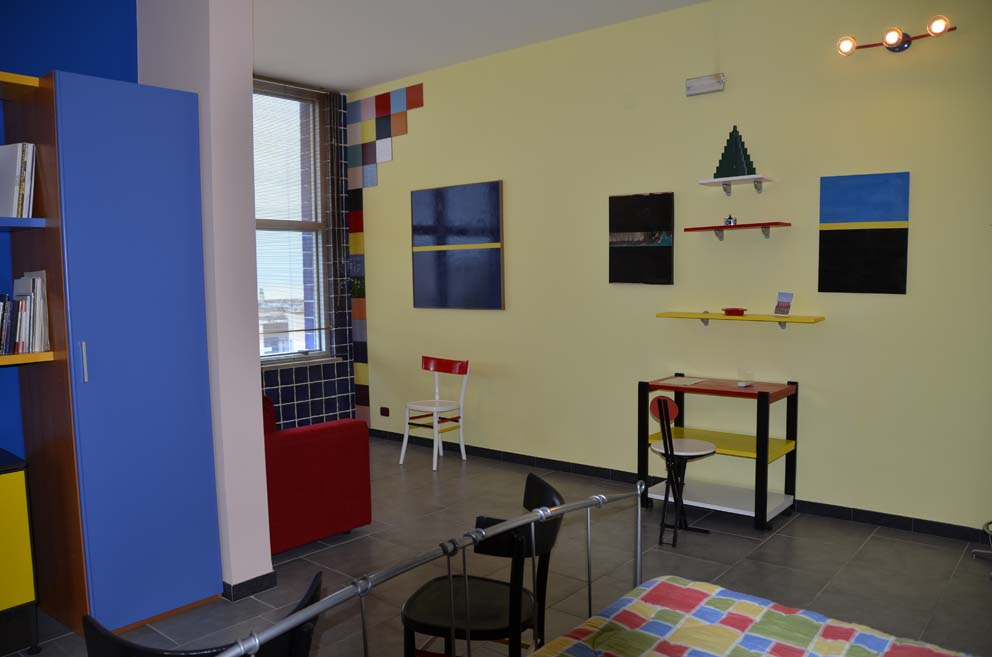 Dettagli suite Mondrian