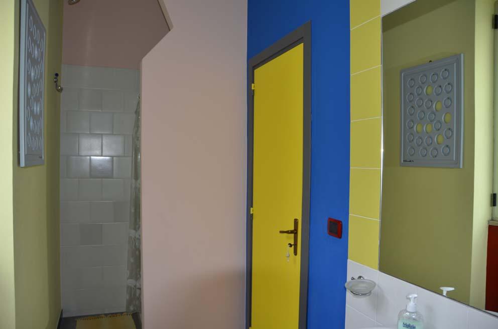 Il bagno della suite Mondrian