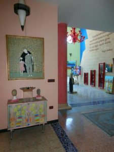 Angolo ingresso galleria