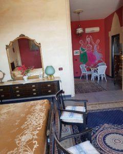 Dettagli affresco suite Canova