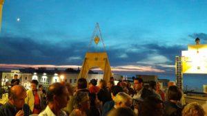 Eventi al tramonto nel terrazzo panoramico