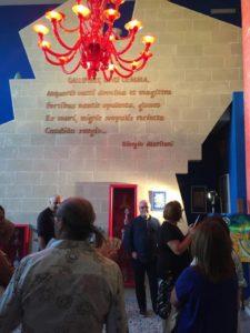 Installazione Artistica nella Casa degli Artisti