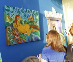 Mostra di quadri nella Casa degli Artisti