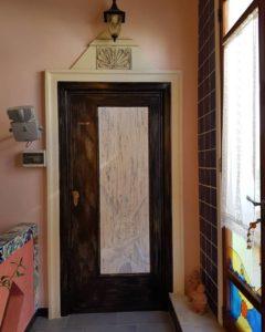 Porta d'ingresso alla suite Canova