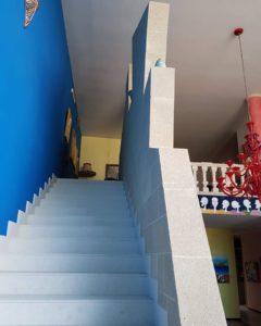 Scala di accesso al piano superiore