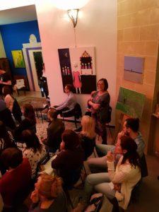 Spettacolo nella Casa degli Artisti