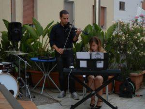 Evento musicale nella Casa degli Artisti