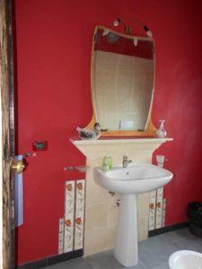 Suite Canova: bagno lavabo