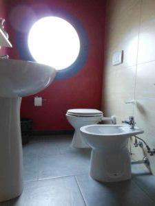 Suite Canova: bagno servizi
