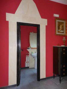 Porta del bagno suite Canova