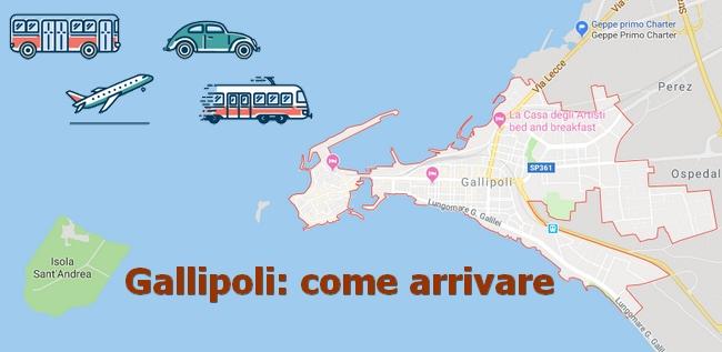 Come arrivare a Gallipoli